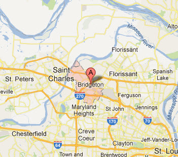 Appliance Repairs In Bridgeton Mo Map Service Coverage Areas